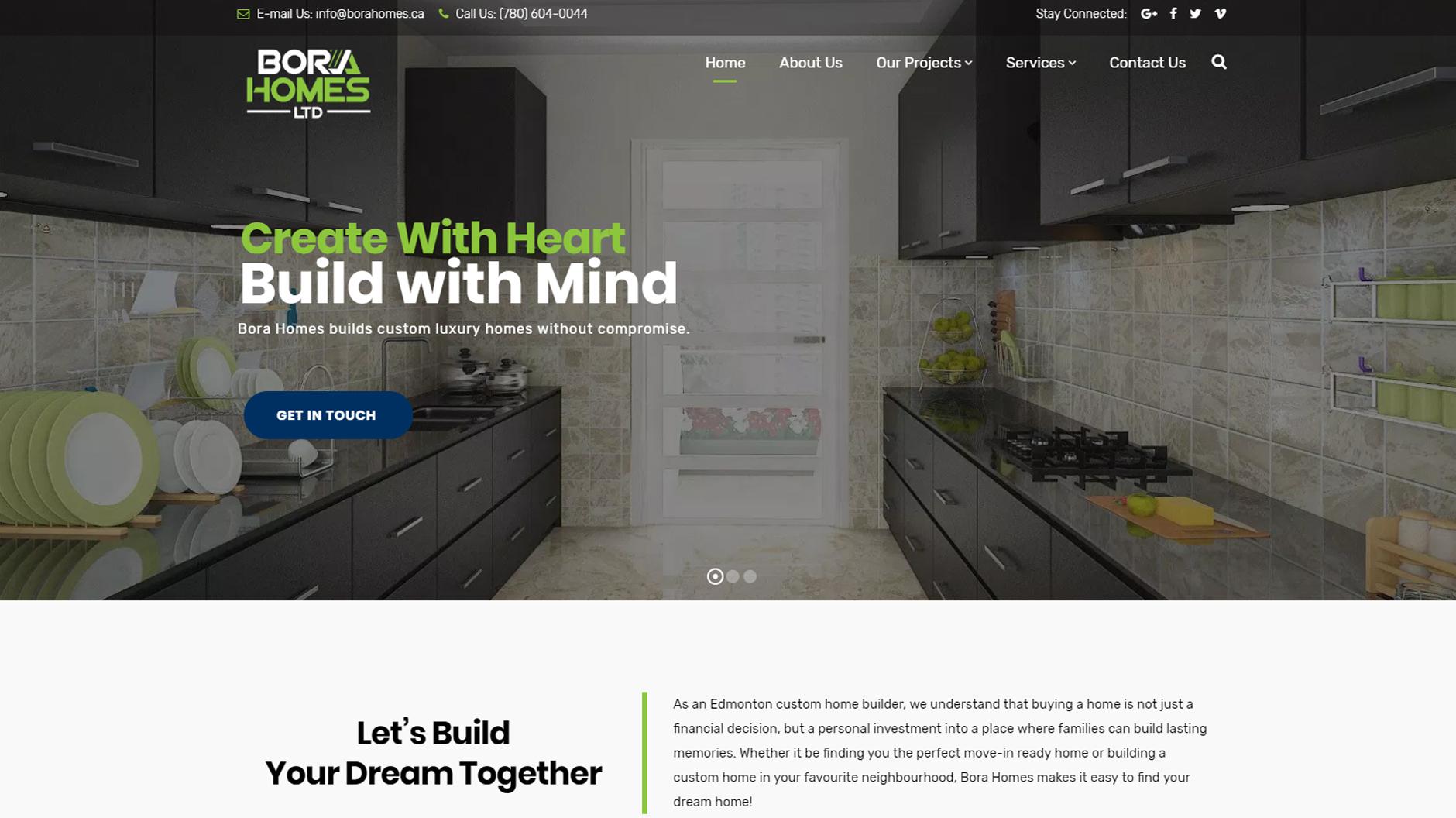 Bora Homes Ltd