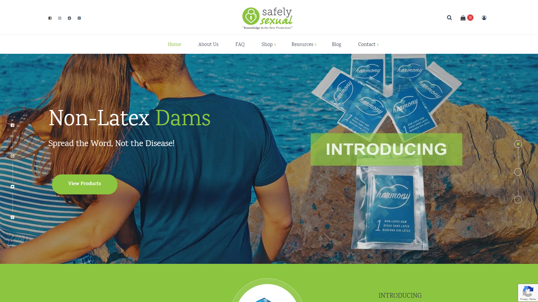 Website Project - Safely Sexual