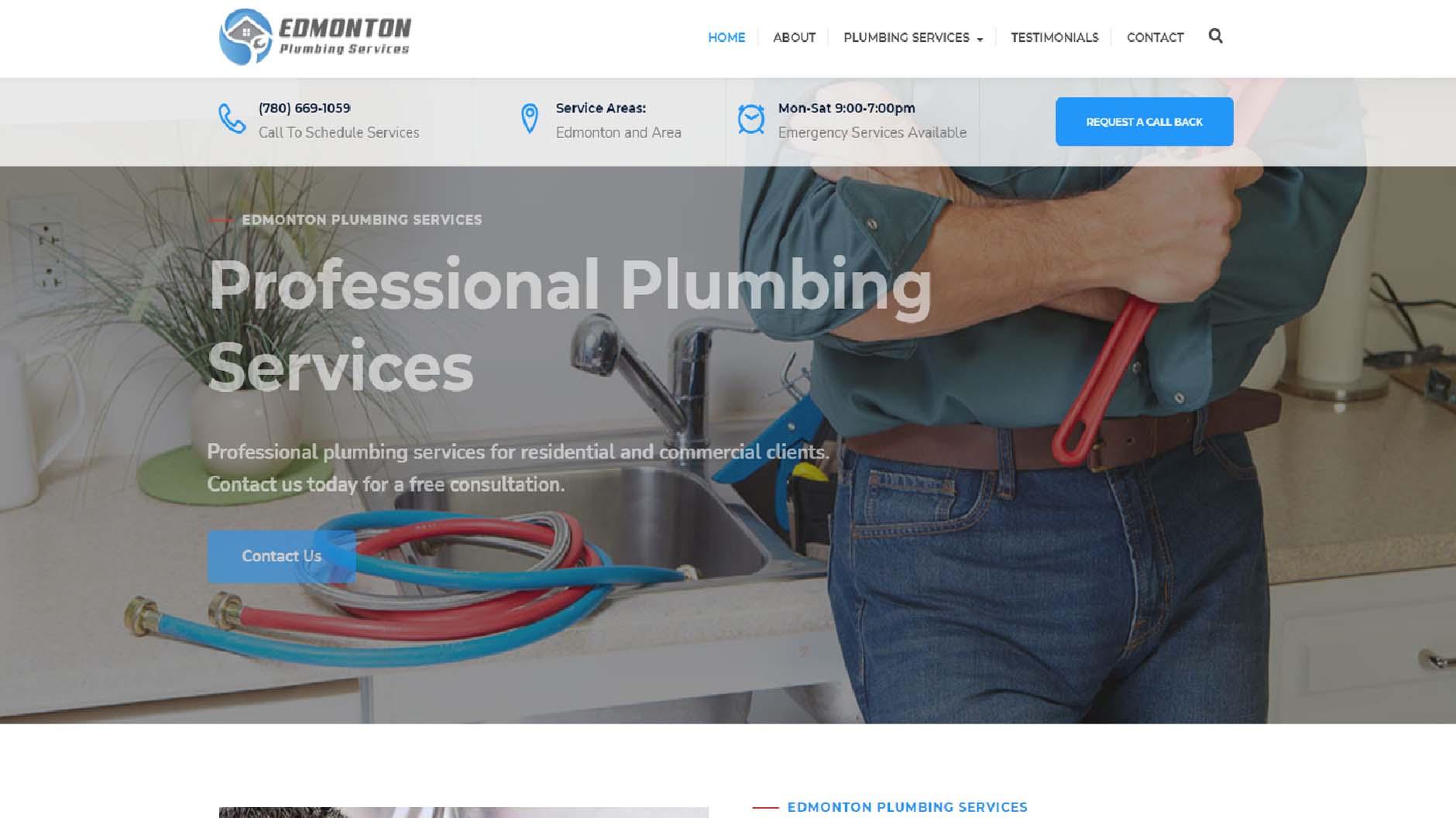 Edmonton Plumbing Services